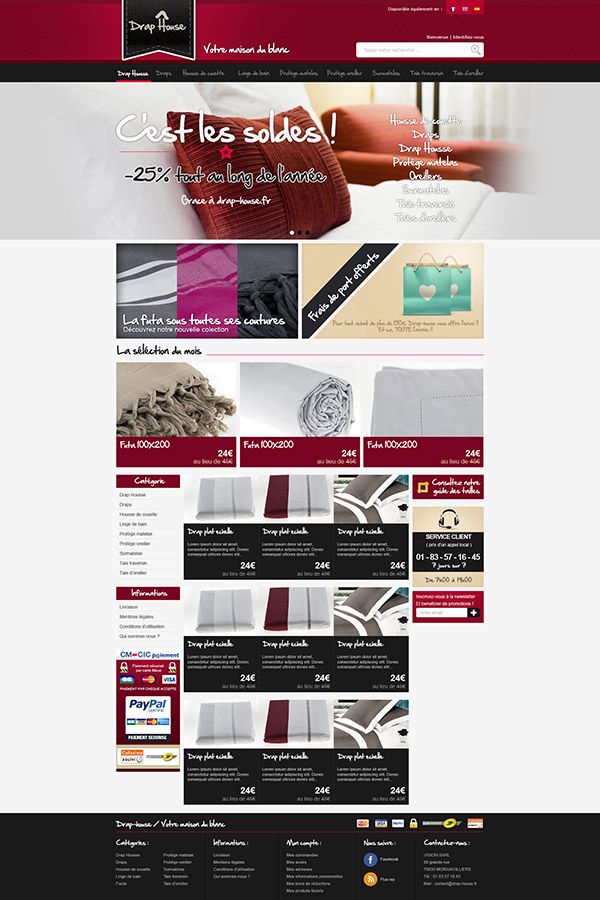 Drap House Homepage