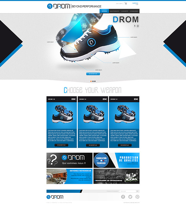 Drom Paintball Homepage